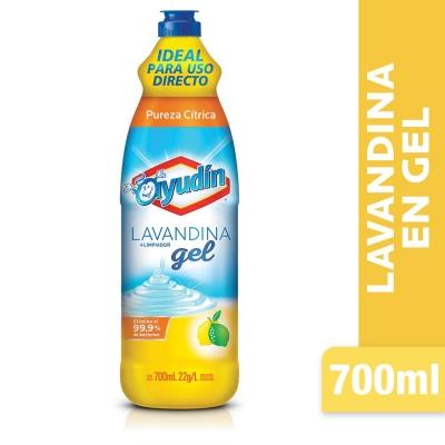 Lavandina en Gel AYUDIN Citrus x 700 ml