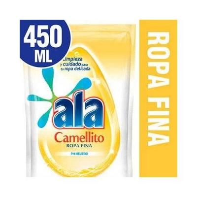 Jabón Liquido ALA CAMELLITO Doypack x 450 ml