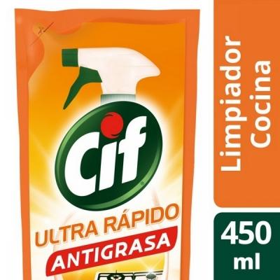 Limpiador CIF Cocina Doypak x 450 ml