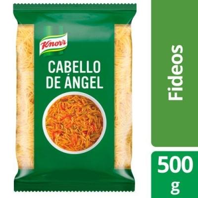 Fideos KNORR Cabello de Angel x 500 g