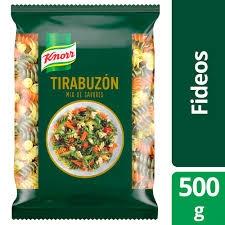 Fideos KNORR Tirabuzon MIX de Sabores x 500 gr