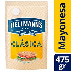 Mayonesa HELLMANNS Doypack x 475 g