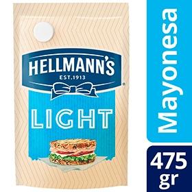 Mayonesa HELLMANNS Light Doypack x 475g