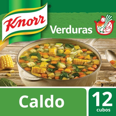 Caldo de Verdura KNORR x 12 Cubos