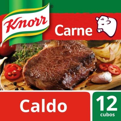 Caldo de Carne KNORR x 12 Cubos