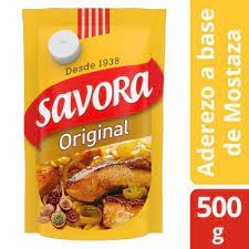 Mostaza SAVORA Original Doypack x 500 g