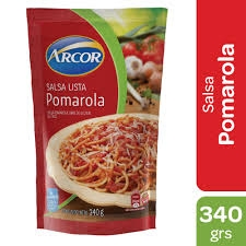 Salsa ARCOR Pomarola x 340 g
