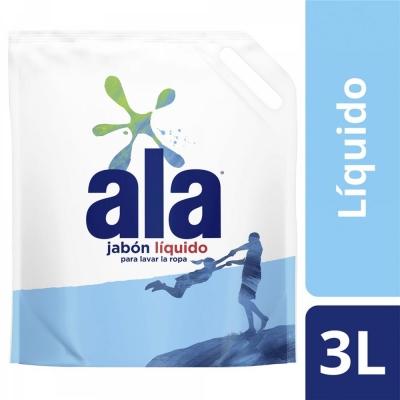 Jabon Liquido ALA Doypack x 3 L
