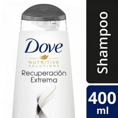 Shampoo DOVE Reconstrucción Extrema x 400 ml