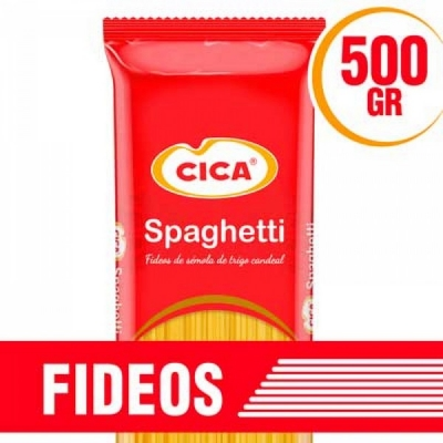 Fideos CICA Spaghetti x 500 g