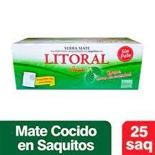Mate Cocido LITORAL x 25 saquitos