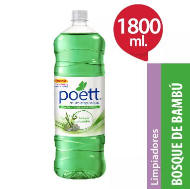 Limpiador Liquido POETT Bosque de Bambu x 1,8 L