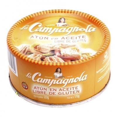 Atun en Aceite LA CAMPAGNOLA x 170 g