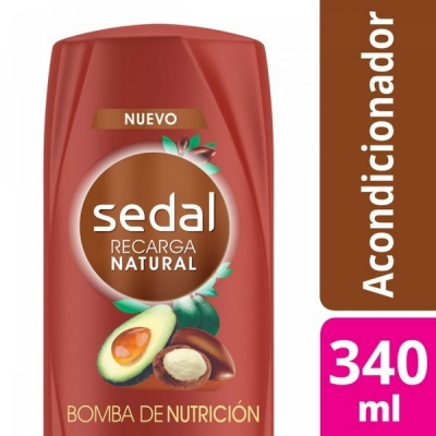 Acondicionador SEDAL Bomba Nutricion x 340 ml