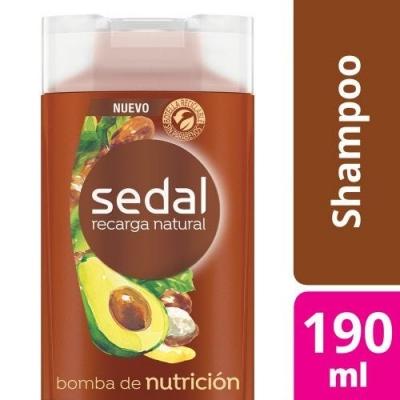 Shampoo SEDAL Bomba Nutrición x 190 ml