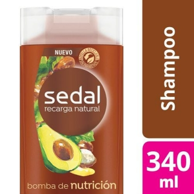 Shampoo SEDAL Bomba Nutricion x 340 ml