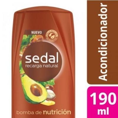Acondicionador SEDAL Bomba Nutricion x 190 ml