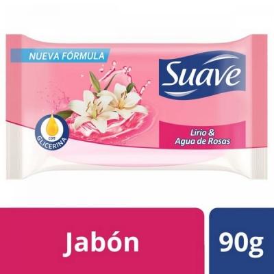 Jabon de Tocador SUAVE Lirio y Rosas x 90 gr