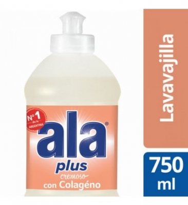 Detergente ALA Crema Colágeno x 750 ml