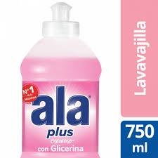 Detergente ALA Crema Glicerina x 750 ml