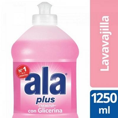 Detergente ALA Crema Glicerina x 1.250 ml