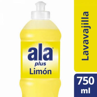 Detergente ALA Cristal Limón x 750 ml