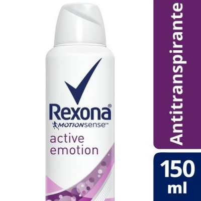 Desodorante REXONA Aerosol Active Emotion x 150 ml